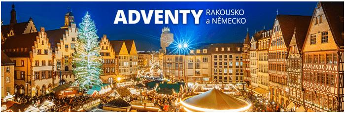 Sleva na zájezd na vánoční trhy