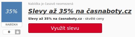 casnaboty.cz sleva