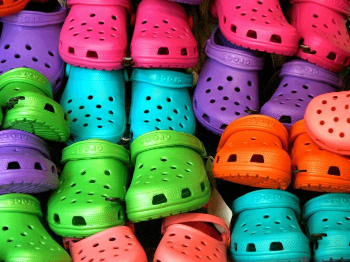Barevné crocs