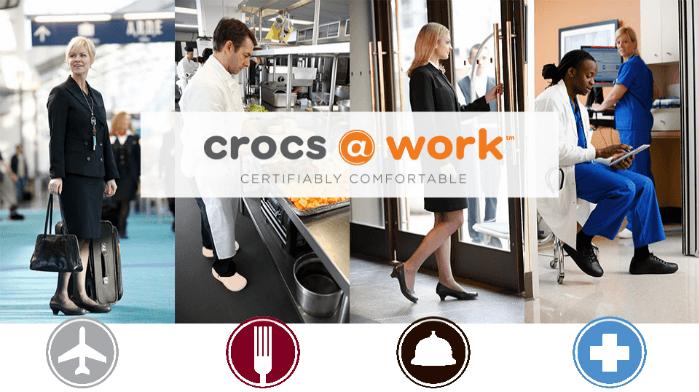 Crocs do práce
