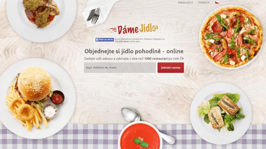 Web damejidlo na slevovekody.com