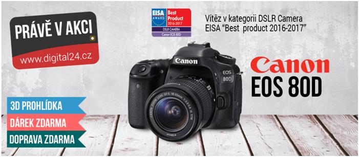 Fotoaparát Canon se slevou na digital24.cz