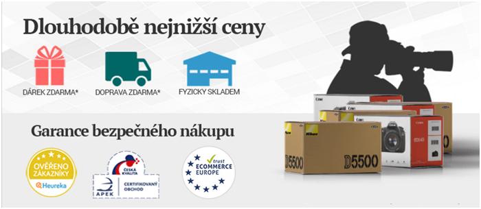Garance nejnižší ceny fotoaparátů na digita24.cz
