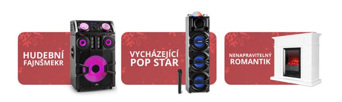 Kvalitní ozvučovací technika na Electronic-star.cz