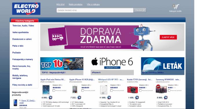 Internetový obchod Electroworld.cz