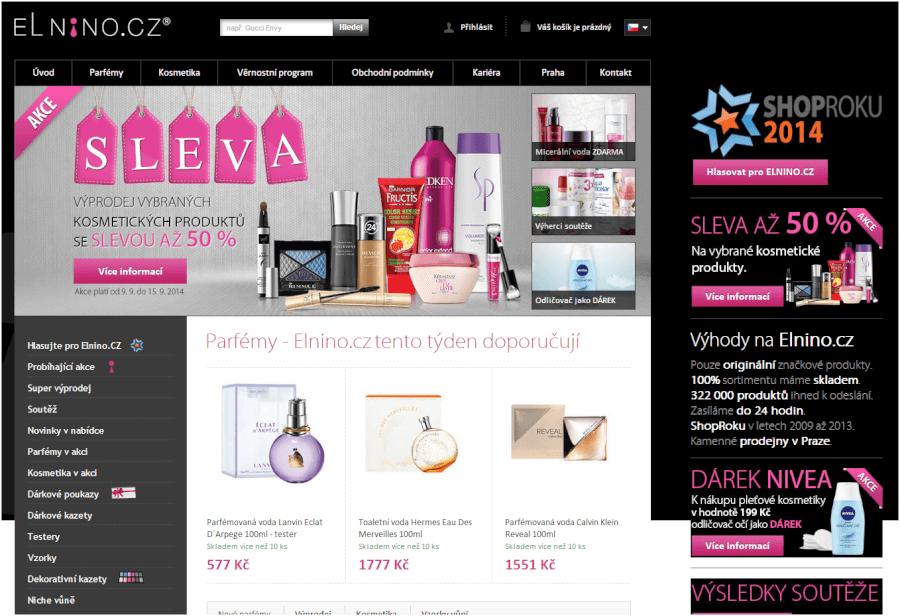 e-shop parfemy elnino
