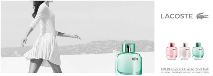 Sleva na parfém lacoste