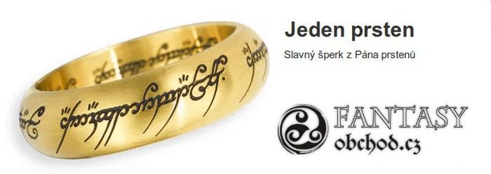 Sleva na prsten z pána prstenů