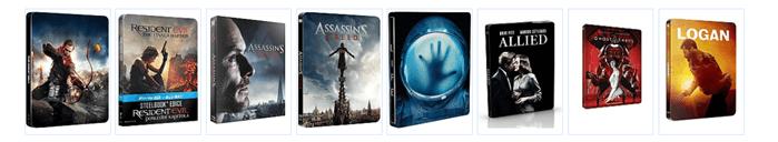 Filmy na DVD a Blue-ray levně