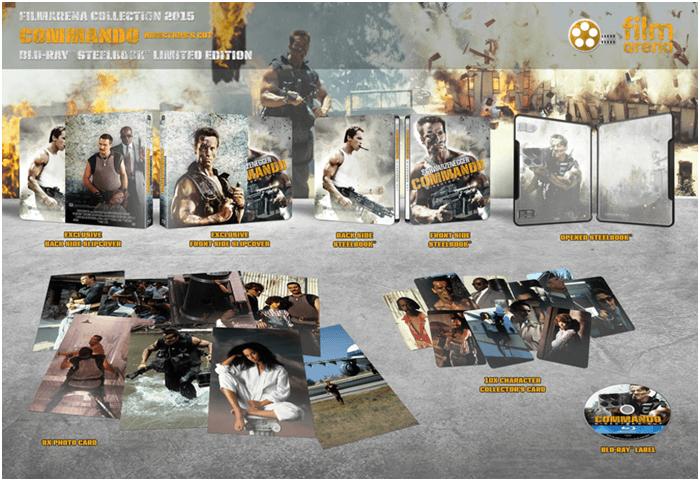 Sběratelská edice Commando s Arnoldem Schwarzeneggerem