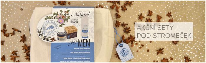 Kosmetika pro muže levně