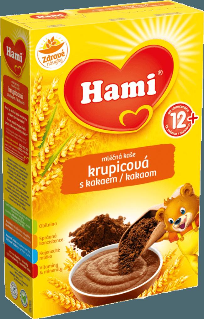 Hami krupicová kaše s kakaem na Feedo.cz