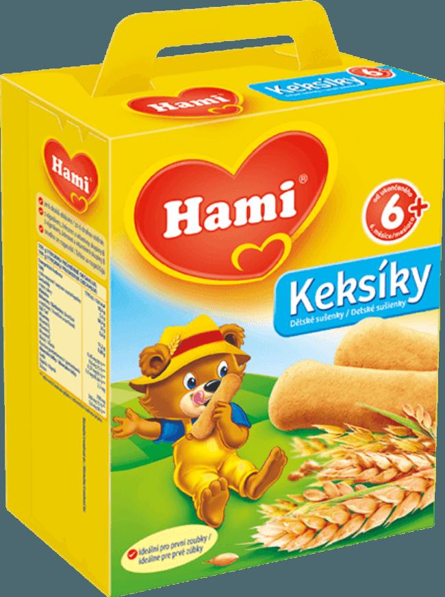 Hami Keksíky s oddělení sušenky a keksy na Feedo.cz