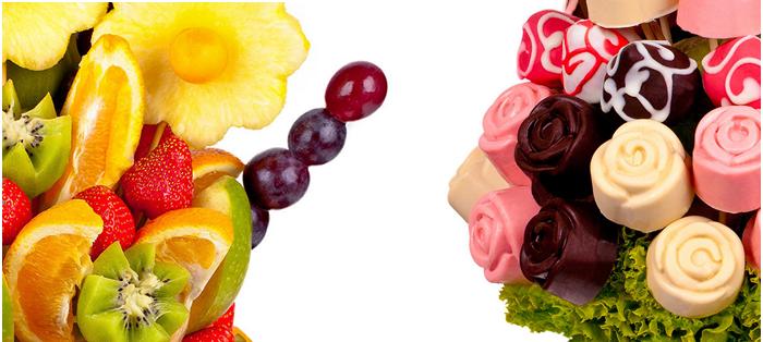 Slevy na ovocné čokoládové kytice Frutiko