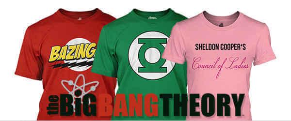 The Big Bang Theory na Geekshop.cz