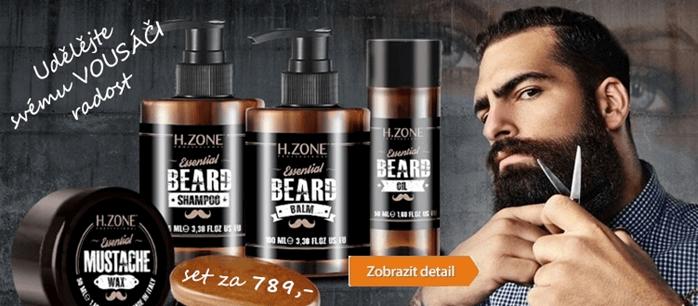 Péče o vousy za nízké ceny na hair-cosmetics.cz