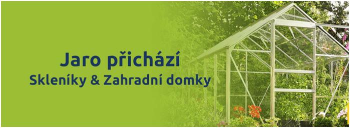 Sleva na zahradní skleník Hawaj.cz