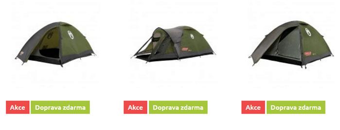 Campinkové vybavení levně na hawaj.cz