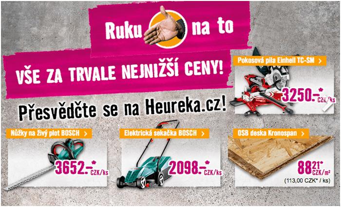 Nejnižší ceny zahradních strojů v Hornbachu