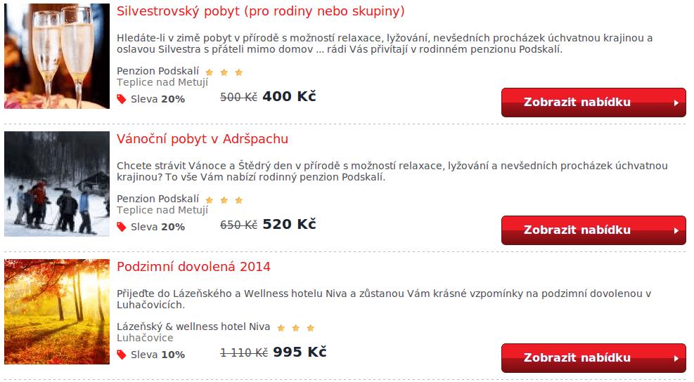 kategorie hotely.cz se slevovým kódem