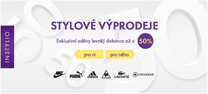 výprodej na instylio.cz