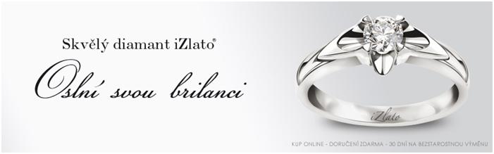 Sleva na diamantový prsten izlato24.cz