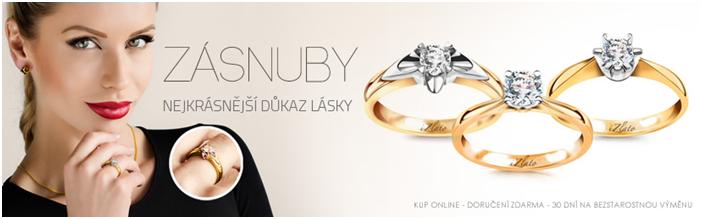 Zásnubní prsteny se slevou izlato24.cz