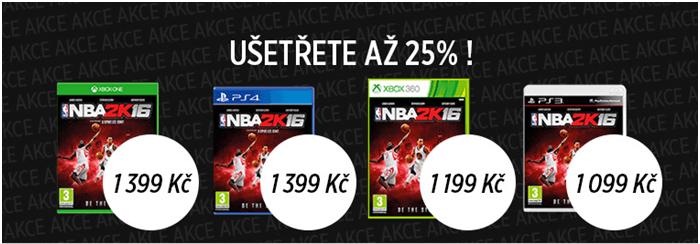 SLeva na hru NBA 2K16 na JRC.cz