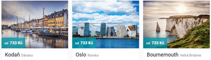 Letenky do Osla za 733 kč