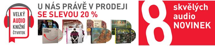 Sleva na audioknihy kosmas.cz