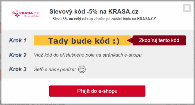 Slevový kupón krasa.cz