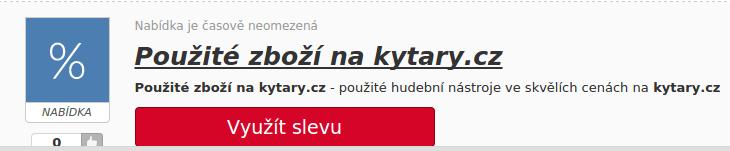 sleva na hudební nástroje na kytary.cz