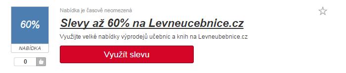 využití slevy levneucebnice.cz