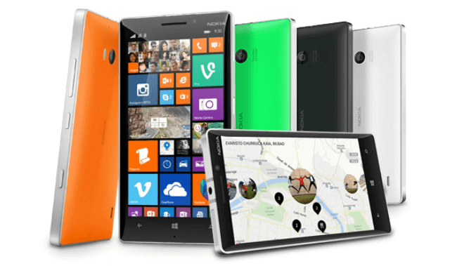 Nokia Lumia 930 na Microsoft Store