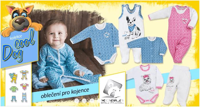 Oblečení pro kojence levně