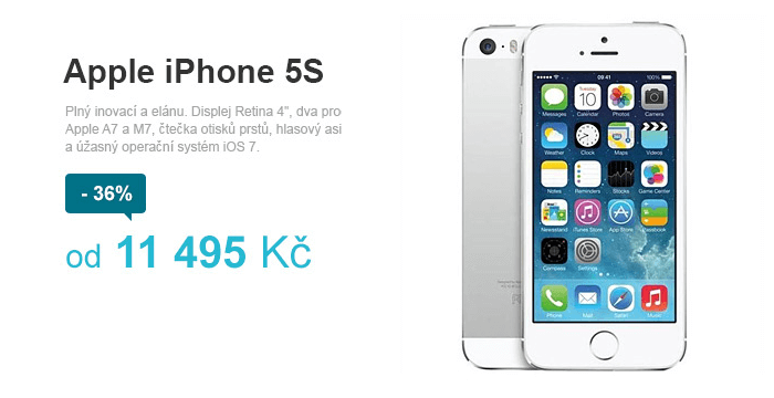Sleva na Apple mobil.cz