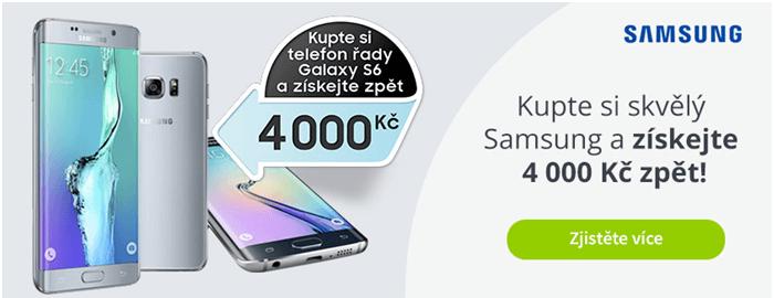 Samsung galaxy S6 sleva