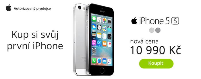 iPhone 5s se slevou na mp.cz