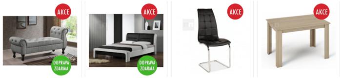 Nábytek a domácí dekorace levně