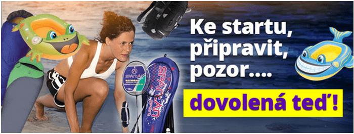 Slevy na sportovní vybavení na Nakupka.cz