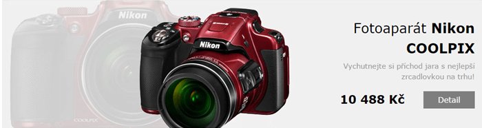 Sleva na fotoaparát Nikon