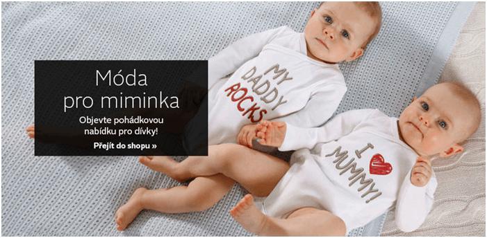 Móda pro miminka levně