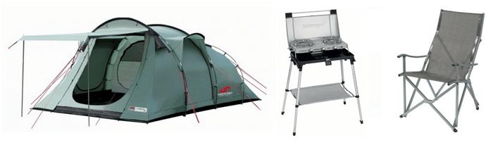 Slevové kódy na campingové vybavení