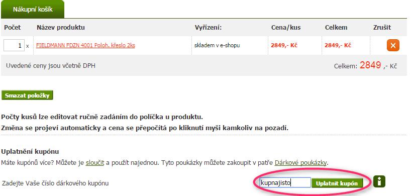 Nákupní košik patro.cz