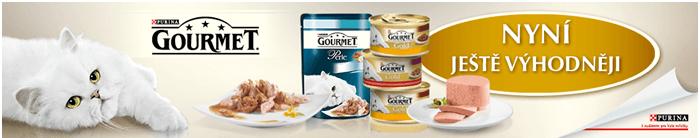 Kočičí mlsání Gourmet levně