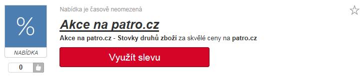 Akce na patro.cz