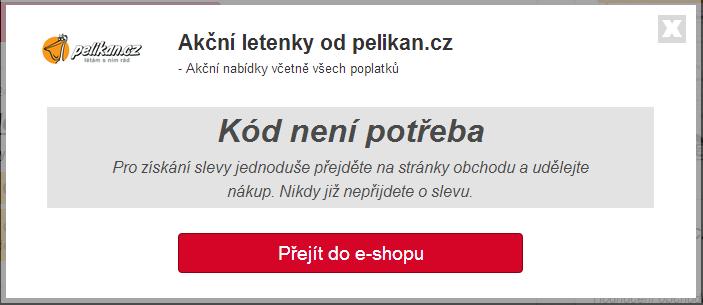 Slevový kód pelikan.cz