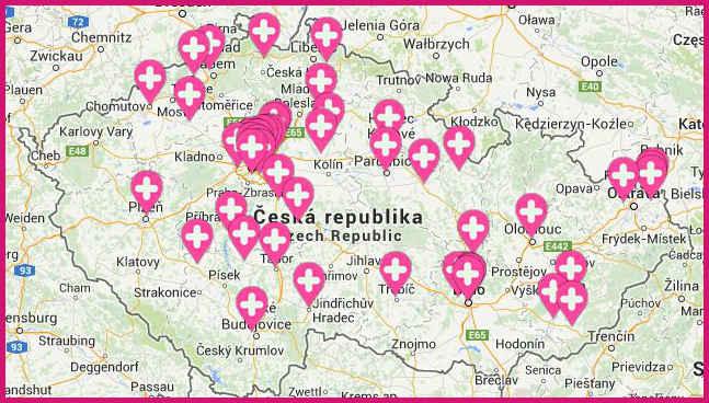 Výdejní místa Pilulka.cz
