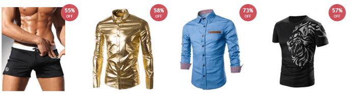 Pánská móda levně na RoseGal.com