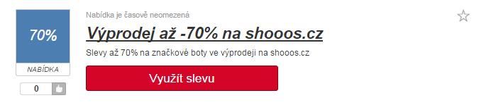 Sleva na shoos.cz